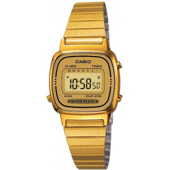 Orologio Casio Acciaio Casio Collection LA670WEGA-9EF - Donna