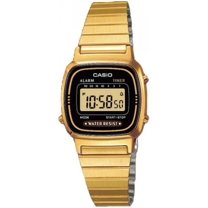 Orologio Casio Acciaio Casio Collection LA670WEGA-1EF - Donna