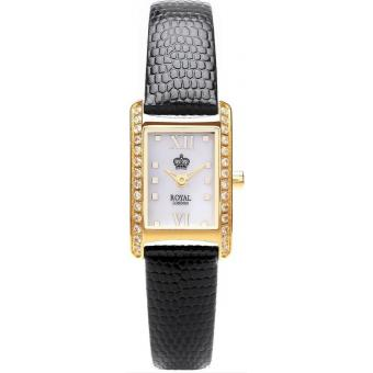 Orologio Royal London 21167-03 - Orologio Donna Pelle Nero