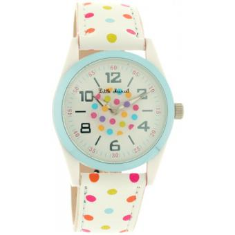 Orologio Little Marcel LM26BLWC - Orologio Bambino Pelle Bianco