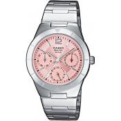 Orologio Casio Acciaio Casio Collection LTP-2069D-4AVEF - Donna