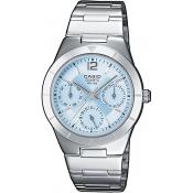 Orologio Casio Acciaio Casio Collection LTP-2069D-2AVEF - Donna