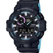 Casio - Orologio Casio G-Shock 90' Rave Colors GA-700PC-1AER - Orologio sport donna