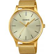 Casio - Orologio Casio Casio Collection LTP-E140G-9AEF - Orologio oro uomo