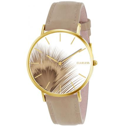 Orologio Clueless BCL10052-014 - Orologio Cuoio Beige Donna