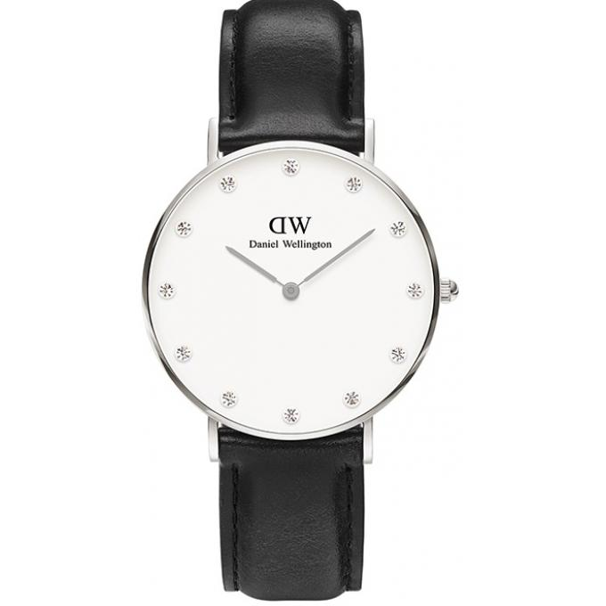 montre daniel wellington dw00100080 montre cuir noire femme su bijourama n 1 dell 39 orologio. Black Bedroom Furniture Sets. Home Design Ideas