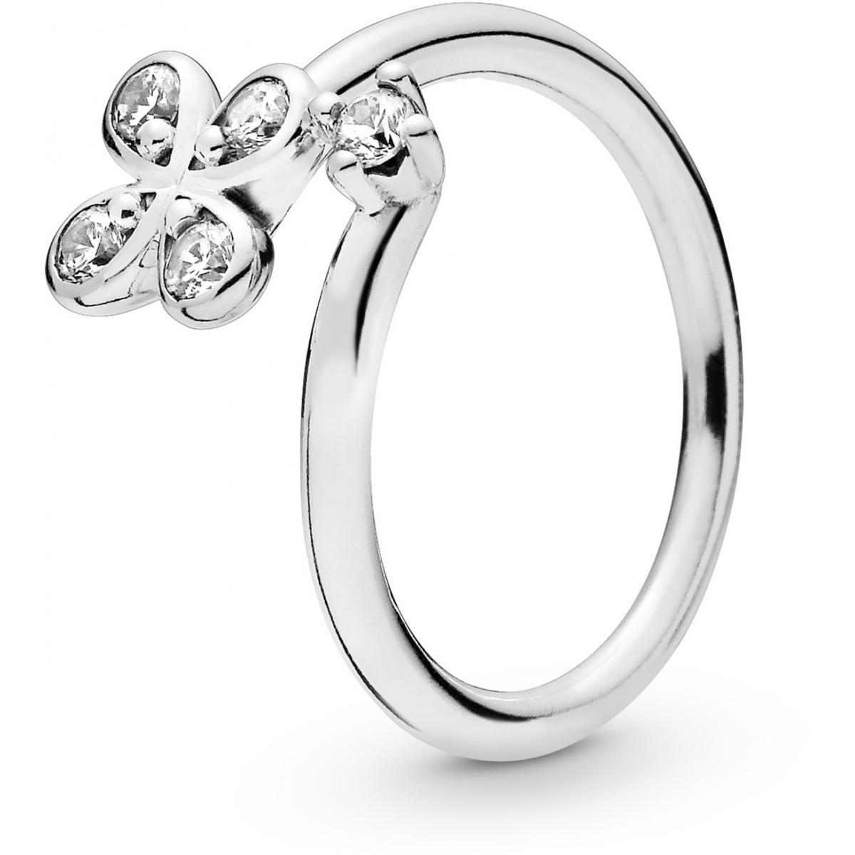 anello pandora con fiori