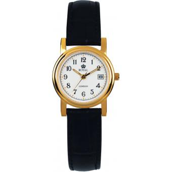 Orologio Royal London 20001-02 - Orologio Donna Pelle Nero
